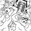 Scooby Doo Coloring Beautiful Scooby Doo Mummy Coloring Pages Cartoon
