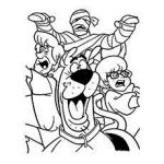 Scooby Doo Coloring Books Wonderful Scooby Doo Coloring Pages Free