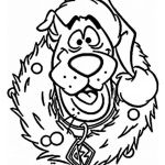 Scooby Doo Coloring Pages Amazing Christmas Characters Coloring Pages at Getdrawings