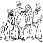 Scooby Doo Coloring Pages Creative Free Scooby Doo Outline Download Free Clip Art Free Clip Art On
