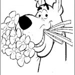 Scooby Doo Coloring Pages Inspiration Scooby Doo Valentines Coloring Page Best Coloring Pages Collection
