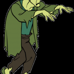"""Scooby Doo Printable Images Brilliant the Zombie From """"which Witch is which Scooby Doo Sleeve"""
