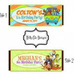 Scooby Doo Printable Images Pretty Scooby Doo Candy Bar Wrapper Diy Party Favor Digital Printable