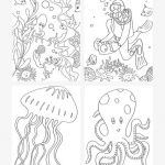 Scuba Diving Coloring Pages Inspired Under the Sea Coloring Pages Mr Printables