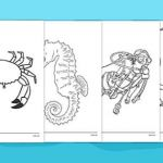 Scuba Diving Coloring Pages Inspiring Free Under the Sea Colouring Sheets