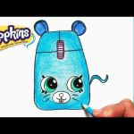 Season 3 Shopkins Roxy Ring Amazing How to Draw Shopkins Season 1 Cupcake Queen Limited Edition Step by