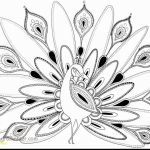 September Coloring Pages to Print Brilliant Peacock Coloring Page Unique Advanced Peacock Coloring Pages New
