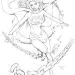 Sexy Coloring Pages Elegant Supergirl From Wax Expo by Randygreen On Deviantart