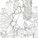 Sexy Coloring Pages Excellent 931 Best Beautiful Women Coloring Pages for Adults Images In 2019