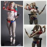 Sexy Harley Quinn Pictures Unique 28cm Crazy toys Real Clothes Version Suicide Squad Harley Quinn Pvc