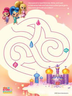 Shimmer and Shine Activities Amazing 343 Best Shimmer & Shine Printables Images In 2018