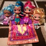 Shimmer and Shine Activities Creative Used Shimmer & Shine Magical Flying Carpet & 4 Dolls for Sale In