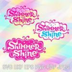 Shimmer and Shine Activities Inspiring 24 Best Shimmer and Shine Svg Images In 2019