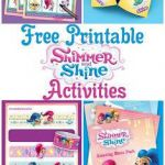 Shimmer and Shine Activities Marvelous Shimmer and Shine Birthday Party