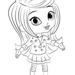 Shimmer and Shine Coloring Page Amazing Shimmer and Shine Coloring Pages Cartoon Coloring Pages