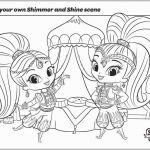 Shimmer and Shine Coloring Page Beautiful Shimmer and Shine Coloring Pages Elegant Shimmer and Shine Coloring
