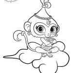 Shimmer and Shine Coloring Page Marvelous Shimmer and Shine Ballerina Coloring Pages