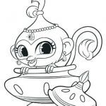 Shimmer and Shine Coloring Pages Awesome Shimmer and Shine Ballerina Coloring Pages