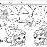 Shimmer and Shine Coloring Pages Brilliant 20 Fresh Shimmer and Shine Coloring Pages