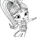 Shimmer and Shine Coloring Pages Brilliant Nick Junior Printables Captivating Nick Jr Color Pages Shimmer and