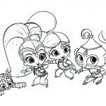 Shimmer and Shine Coloring Pages Creative asapcontractingusa Page 127 Pokemon Pikachu Coloring Pages