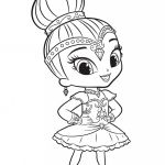 Shimmer and Shine Coloring Pages Elegant How to Drawing Fish for Kids Coloring Pages Shining Tank Best