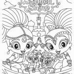 Shimmer and Shine Coloring Pages Inspiring Shimmer and Shine Printable Coloring Pages Fresh Printable Shimmer