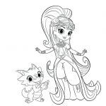 Shimmer and Shine Coloring Pages Pretty Coloring Pages Printable Free – Ahmadsalehifo