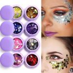 Shimmer and Shine Free Best Focal Lure Super Glitter Eyeshadow Festival Makeup Shimmer and Shine