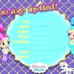 Shimmer and Shine Free Inspired Shimmer and Shine Invitation Template – Mjangir