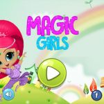 Shimmer and Shine Monkey Awesome Magic Girls Shimmer and Shine Version Apps