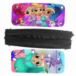 Shimmer and Shine Monkey Awesome Shimmer and Shine Pencil Bag Rock Casual Case Women Men Teenagers