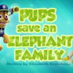 Shimmer and Shine Monkey Brilliant Pups Save An Elephant Family Paw Patrol Wiki
