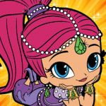 Shimmer and Shine Monkey Excellent Magic Girls Shimmer and Shine Version Apps