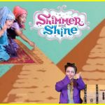 Shimmer and Shine Monkey Marvelous A Shimmer and Shine Nightmare Fun Family Spoofs Shimmer and Shine