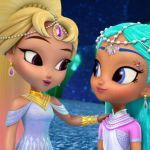 Shimmer and Shine Princess Samira Amazing Empress Caliana and Princess Samira Shimmer and Shine