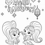 Shimmer and Shine Printables Amazing Printable Coloring Pages Elf Awesome Fun In the Sun Coloring Pages