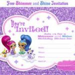 Shimmer and Shine Printables Beautiful Shimmer and Shine Invitation Template Free Elegant 76 Best Shimmer