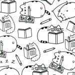 Shopkin Coloring Sheets Awesome Pusheen Cat Coloring Pages New Picture Coloring Line Elegant Color