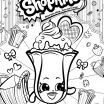 Shopkin Lippy Lips Marvelous Luxury Printable Coloring Pages Shopkins