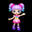 Shopkin Shoppies Dolls Exclusive Rainbow Kate Shopkins Wiki