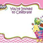 Shopkins 2016 Calendar New Pany Birthday List Template Pdf Editable Cute High Quality Card