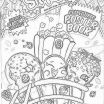 Shopkins Bubble Gum Awesome Lovely Shopkin Coloring Page 2019