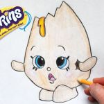 "Shopkins Chee Zee Best How to Draw Shopkins Season 1 ""googy"" Step by Step"