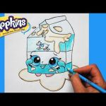 Shopkins Chee Zee Exclusive How to Draw Shopkins Season 1 Melonie Pips Step by Step Easy toy