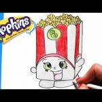 Shopkins Chee Zee Inspired How to Draw Shopkins Season 1 Melonie Pips Step by Step Easy toy