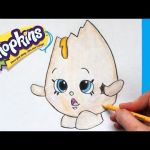 "Shopkins Chee Zee Inspired How to Draw Shopkins Season 1 ""googy"" Step by Step"