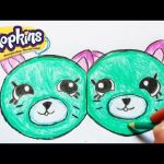 Shopkins Chee Zee Inspiring How to Draw Shopkins Season 1 Melonie Pips Step by Step Easy toy