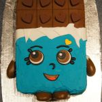 Shopkins Chocolate Bar Fresh Cheeky Chocolate Shopkins Cake Birthday Cakes