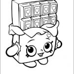 Shopkins Chocolate Bar Inspirational Shopkins Chocolate Coloring Page New Free Shopkins Coloring Pages
